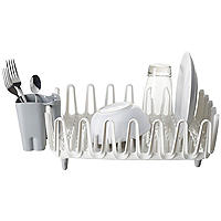ILO Clam Shell Small Compact Dish Drainer Rack