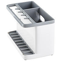 ILO Large Sink Tidy Bright White/Grey