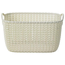 Small Knit Effect Tub Cream
