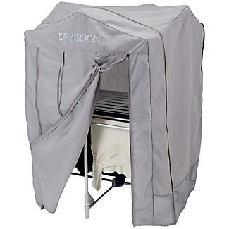 Dry:Soon 2 Tier Heated Airer with Cover and Shelf Offer Bundle alt image 4