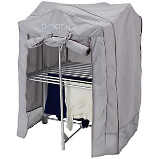 Dry:Soon 2 Tier Heated Airer with Cover and Shelf Offer Bundle alt image 5