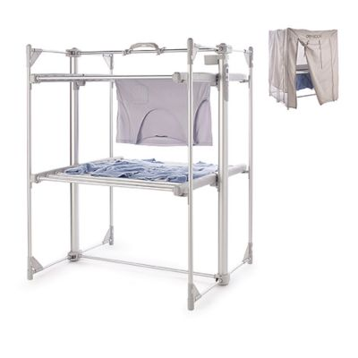 DrySoon Deluxe 2Tier Heated Airer and Cover Offer Bundle
