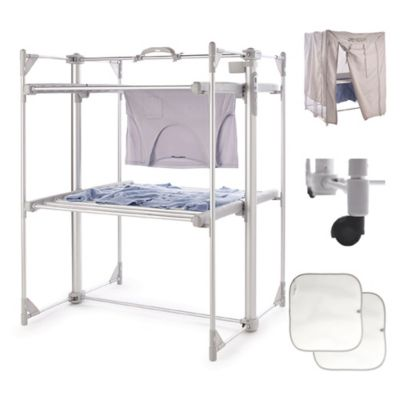 DrySoon Deluxe 2Tier Heated Airer and Full Accessories Offer
