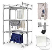 Dry:Soon Deluxe 3-Tier Heated Airer Full Bundle