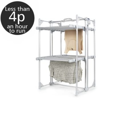 DrySoon Mini Deluxe 2Tier Heated Airer