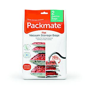 2 Pack-Mate® Jumbo Flat Vacuum Bags
