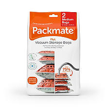 2 Pack-Mate® Medium Flat Vacuum Bags