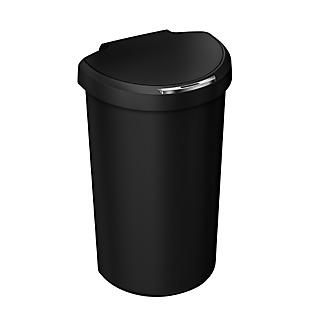 simplehuman® 40 Litre Semi-Round Sensor Bin, Black