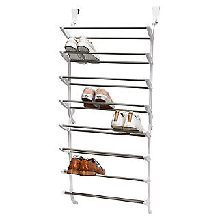 24 Pair Over-Door Shoe Storage Rack