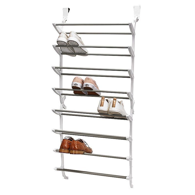 24 Pair Over-Door Shoe Storage Rack