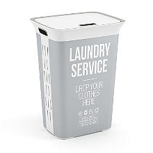Laundry Service Lidded Laundry Hamper 60L