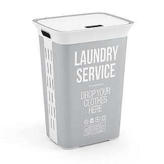 Laundry Service Lidded Laundry Hamper 60L