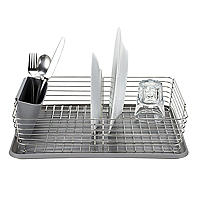 Lakeland Deco Stainless Steel Dish Drainer with Tray