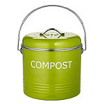 Worktop Compost Bin Apple Green 3.5L
