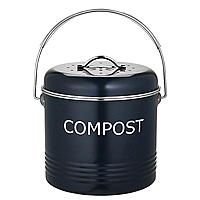 Worktop Compost Bin Slate Grey 5L