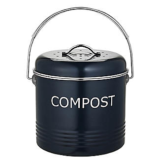 Worktop Compost Bin Slate Grey 3.5L