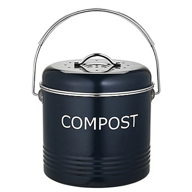 Worktop Compost Bin Slate Grey 3.5L
