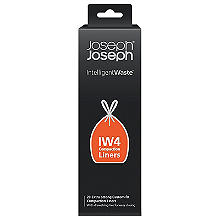 Joseph Joseph 20 Abfallbeutel für den Titan Kompaktor-Abfalleimer, 40Liter