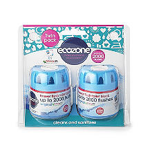 Ecozone Forever Flush 2000 Toilet Cleaner Blocks 2 Pack