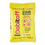 Kilrock Dabitoff Carpet and Upholstery Stain Remover Wipes 20 Pack