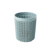Curver Knit Effect Storage Pot Blue