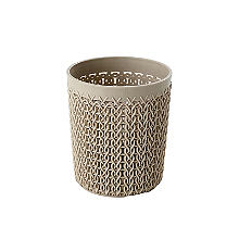 Curver Knit Effect Storage Pot Dune