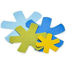4er-Set Topf- und Pfannenschützer gegen Verkratzen, farblich sortiert