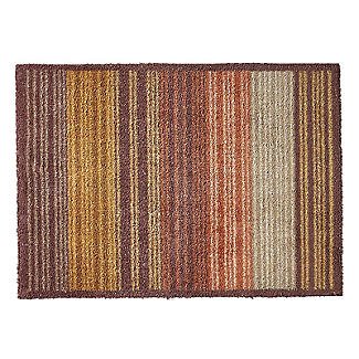 Warm Stripe Turtle Mat