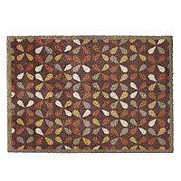 Leaf Tiles Turtle Mat