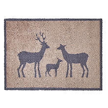 Stag Family Turtle Mat