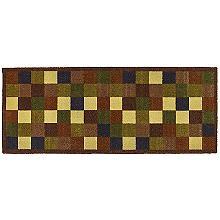 Saugfähiger Bodenläufer von Hug Rug mit Mosaikmuster, für Innenräume, 60 x 150cm