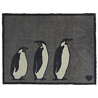 Hug Rug Anti-Slip Indoor Door Mat Penguins 85 x 65cm