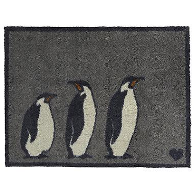 Hug Rug Anti-Slip Indoor Door Mat Penguins 85 x 65cm