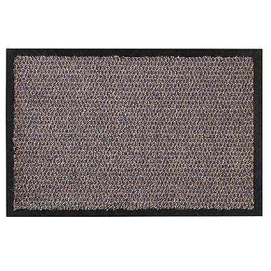 Microfibre Super-Absorbent Indoor Door Mat Granite 58 x 39cm