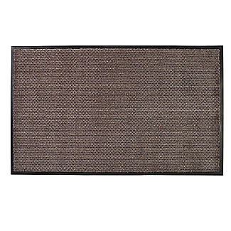 Microfibre Super-Absorbent Indoor Door Mat Granite 120 x 75cm alt image 1