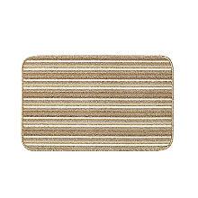 Lakeland Rutschfeste Fußmatte für Innenräume, in Naturfarbe gestreift, 50 x 80cm