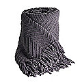 Soft Touch Throw Slate Grey