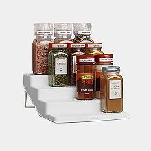SpiceSteps Stufenförmiges Gewürzregal für 12 Behälter
