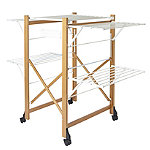 Italian Design Large Folding Wooden Clothes Airer