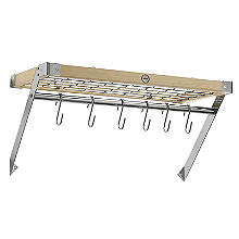 Hahn Classic Wall Rack Natural Pine with Hooks