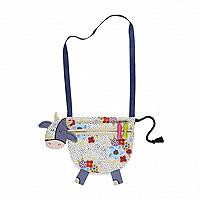 Daisy The Cow Fabric Peg Bag