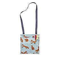 Foraging Fox Oilcloth Peg Bag