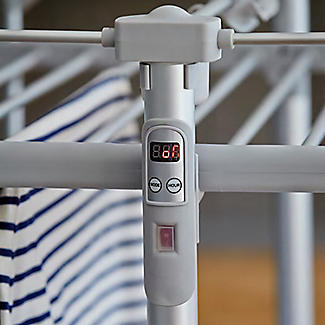 Dry:Soon Deluxe 3-Tier Heated Airer and Full Accessories Offer alt image 3