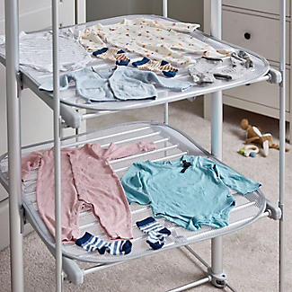 Dry:Soon Deluxe 3-Tier Heated Airer and Full Accessories Offer alt image 8