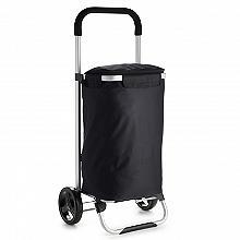 Easy Load City Shopper Folding Shopping Trolley 36L Black