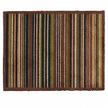 Hug Rug Indoor Door Mat Forest Stripe 85 x 65cm