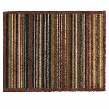 Hug Rug Indoor Door Mat Forest Stripe 85 x 65cm