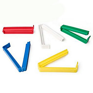 5 Klippits Food Storage & Sealing Bag Clips - 9cm