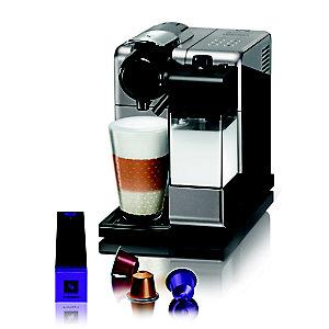 De'longhi Nespresso Lattissima Touch Paladium Silver Coffee Pod Machine EN550.S