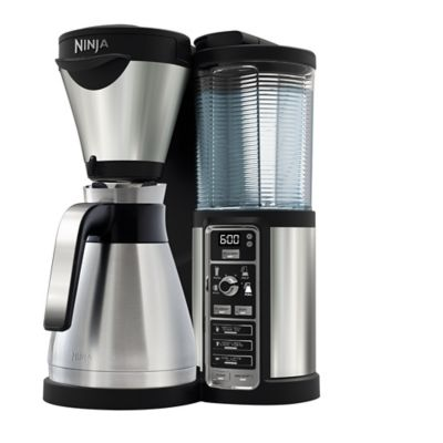 Ninja Coffee Maker Deals : NINJA Coffee Bar Auto-iQ Brewer & Carafe, CF065UK, Steel